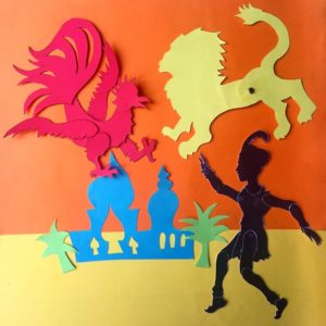 Prince Achmed adventurous shadow puppet workshop